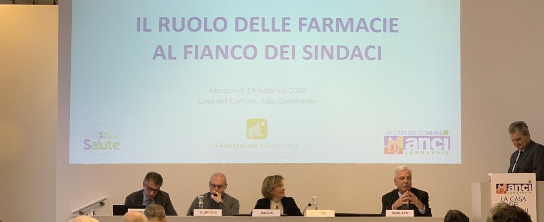 Farmacie rurali al fianco dei sindaci: convegno a Milano