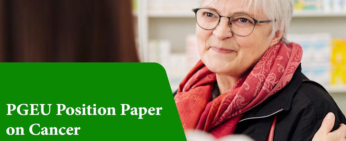Farmacisti europei contro il cancro: la posizione del Pgeu
