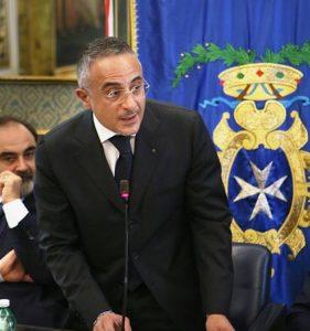 Dario Pandolfi, presidente di Federfarma Campania