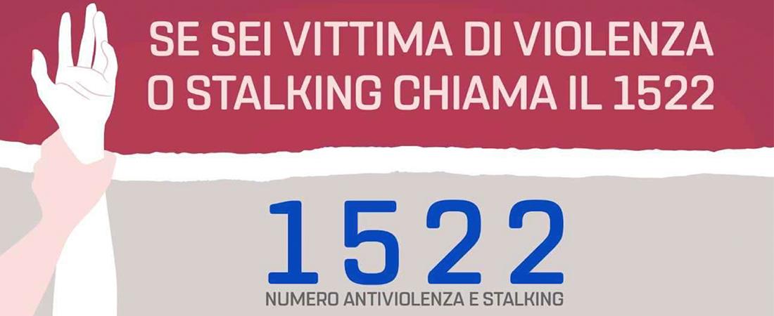 Numero verde 1522 anti-violenza: esporre il cartello